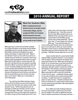 2010 Annual Report visual