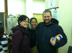 Board Members Genn, Cristina and Matthew